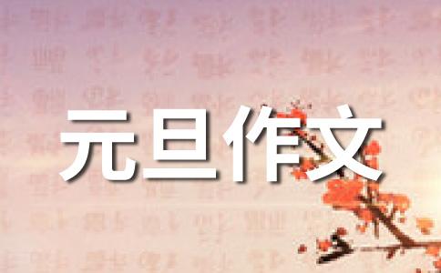【热】元旦400字作文十五篇